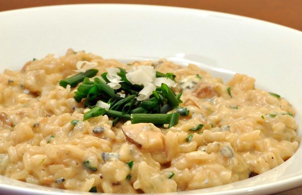 DSC 1804 1 gorgonzola & porcini mushroom risotto