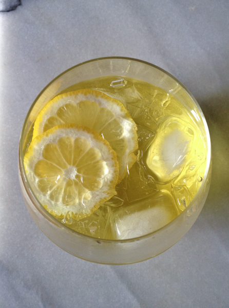 photo 3 thirsty thursday | limoncello spritzer & OXO giveaway winner!
