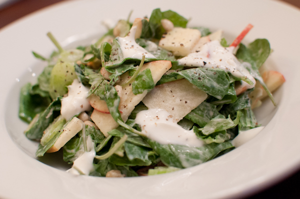 apple & arugula salad - life with the lushers