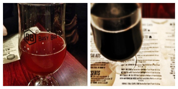 busy bee 4th anniversary beers
