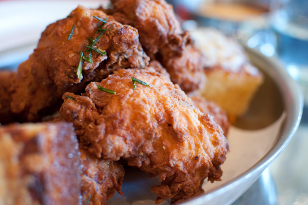 ad hoc fried chicken - life with the lushers