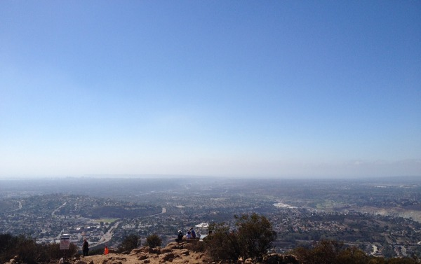 top of cowles mountain - life with the lushers