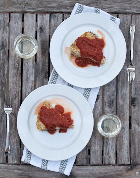 capellini al forn place setting - life with the lushers