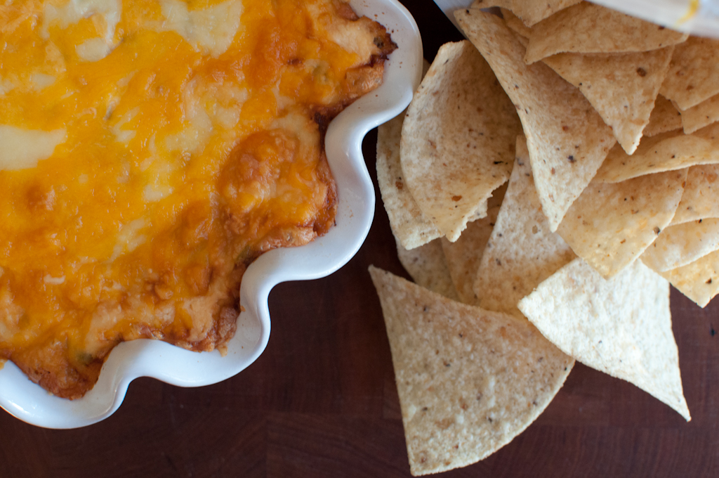 Green Chile Cheese Dip