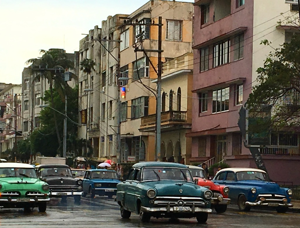 vintage cuban cars
