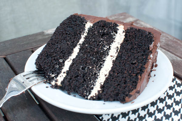 Dark Chocolate Salted Caramel Cake Life With The Lushers